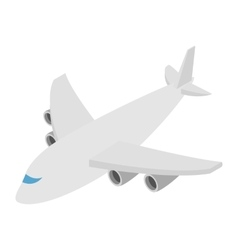 Airplane isometric 3d icon vector image vector image