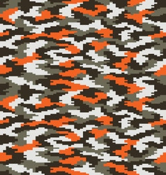 digital fashion camouflage 2 vector image