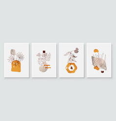 Painting wall pictures home room decor modern vector