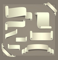 Paper Design Elements vector