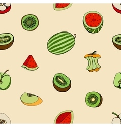 Pattern of Fruits vector