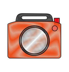 photographic camera icon image vector image