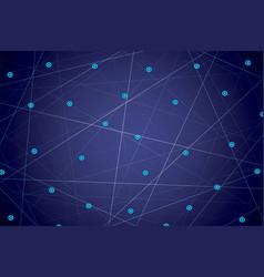 starry sky map random schematic bright stars vector image