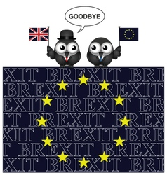 United Kingdom exit from the European Union vector image
