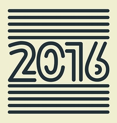 2016 vector image