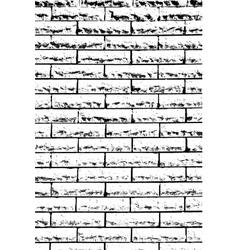 Decorative Brickwall vector image vector image