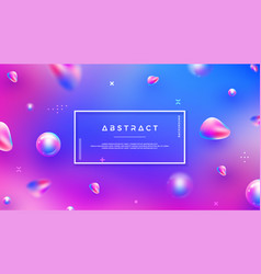 abstract background with blue and purple color vector image