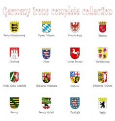 Germany icon vector image