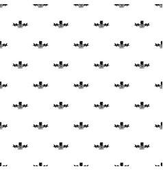 Gmo free label pattern seamless vector