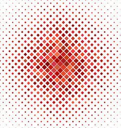 Red square pattern background design vector