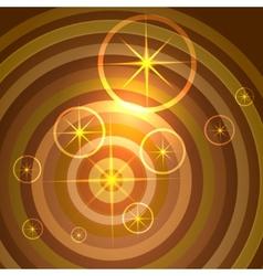 shining stars background vector image