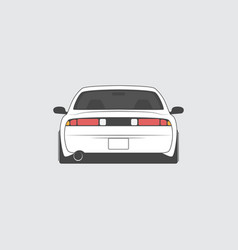 Sport japan car isolated vector