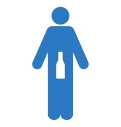 WC Man Flat Icon vector