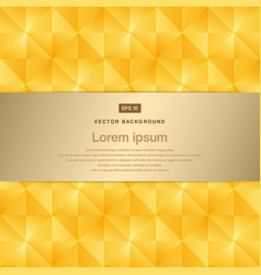 abstract background modern luxury gold square vector image vector image