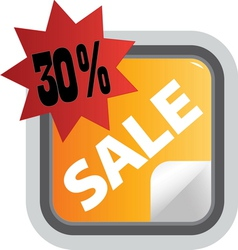 sale1 resize vector image vector image