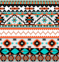 Seamless navaho pattern vector image vector image