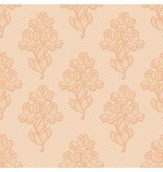 Vintage lace background ornamental flowers texture vector image vector image