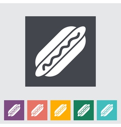 Hot dog 2 vector image