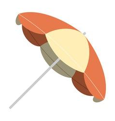 Vintage parasol vector