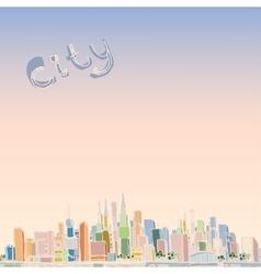 03 Cityscape vector image
