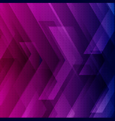 Abstract blue purple and pink tech background vector