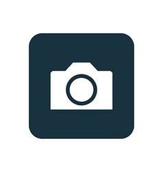 Camera icon Rounded squares button vector