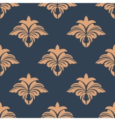 Dainty retro floral seamless pattern vector