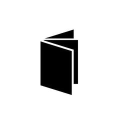 Exercise book flat icon vector