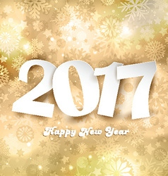 happy new year background 1510 vector image
