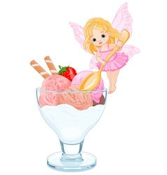 Ice Cream Fairy vector