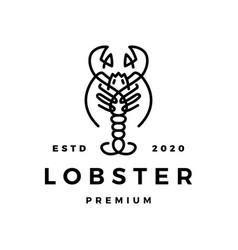 lobster logo icon vector image