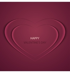 modern valentines day background vector image
