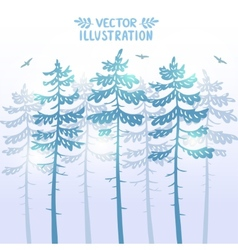 Pine background vector