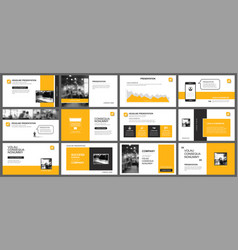 Presentation and slide layout template design vector