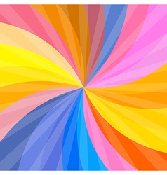 Retro Spiral Colorful Background vector