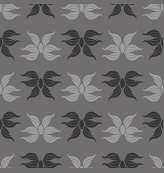 seamless abstract vintage gray pattern vector image