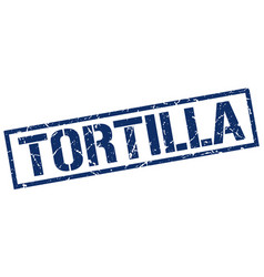 Tortilla stamp vector