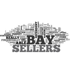 What e bay gets from sellers text word cloud vector