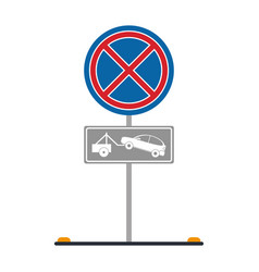 parking sign icon image vector image vector image