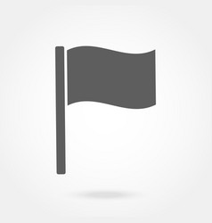 flag icon flat design vector image vector image