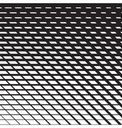 Line halftone pattern vector image vector image