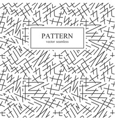 seamless striped sketch pattern vector image vector image