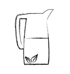 cold drink lemonade vector image