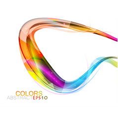 Bright colors shape vector