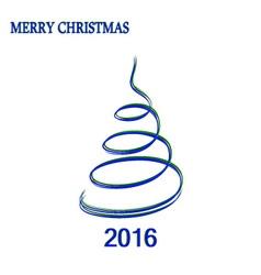 Chrristmas tree 01 vector image