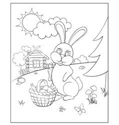 Coloring for kids vector