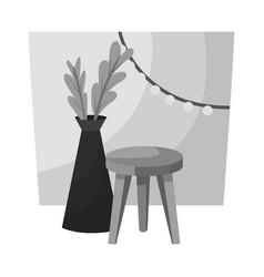 design room and interior logo set vector image