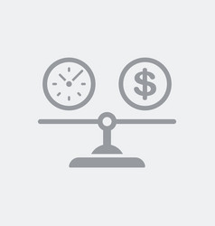 Equity between time and dollars cost vector