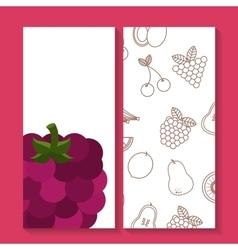 Fresh fruit premium quality vector