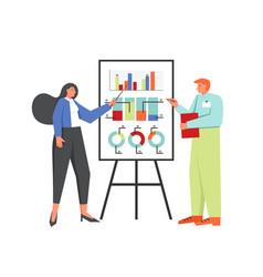 recruitment concept flat style design vector image